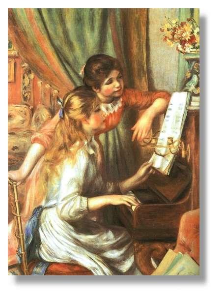 jeune fille piano auguste renoir