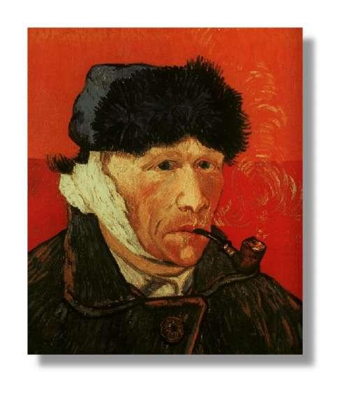 Toujours propos de vincent van gogh une exposition de - Vincent van gogh autoportrait a l oreille coupee ...